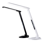 12V LED side light desk led table lamp with touch dimmer and LCD calendar