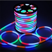 110V/230V 50M/Roll 5050SMD LED Neon Strip Light RGB Color
