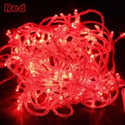 10M LED Christmas String Light-Red Color