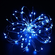 12V 10M Copper Wire LED String Light- Blue Color