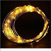 12V 10M Copper Wire LED String Light-Orange Color