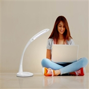 Touch sensitive LED reading lamp