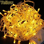 10M LED Christmas String Light-Yellow Color